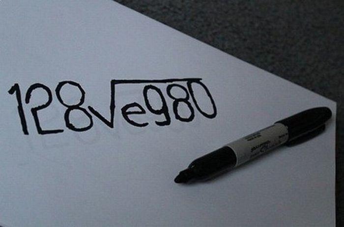 Формула любви (2 фото)