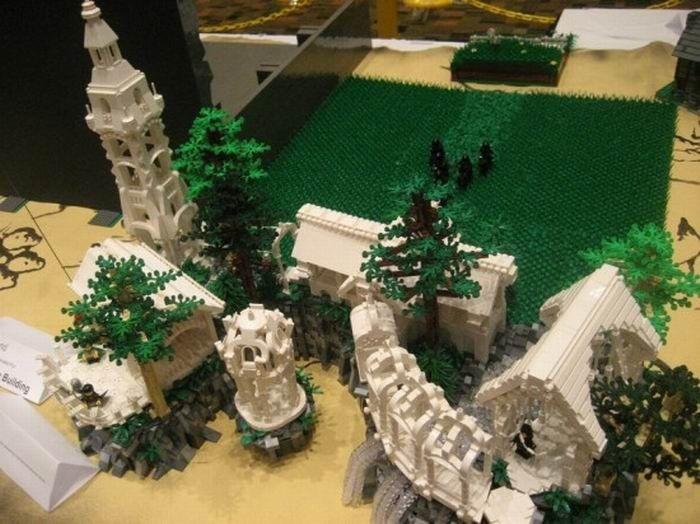 Властелин колец Лего (11 фото)