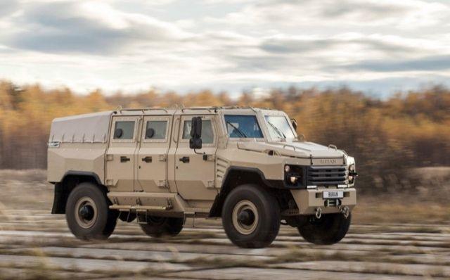 """Уникальный отечественный бронеавтомобиль """"Буран"""" (5 фото)"""