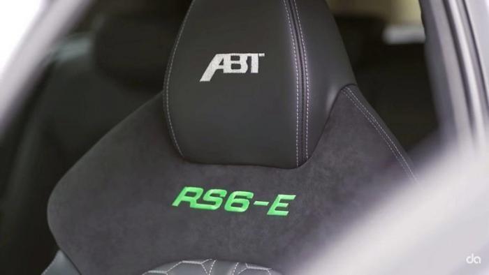 В компании ABT создали гибридный 1000-сильный Audi RS6-E (9 фото + видео)