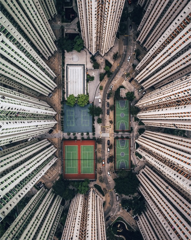 Лучшие фотографии, снятые дронами (10 фото)
