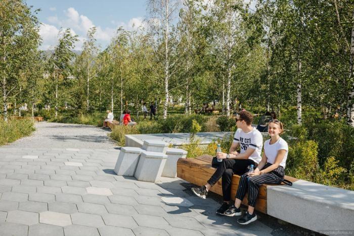 Как выглядит самый дорогой парк в Москве год спустя (42 фото)