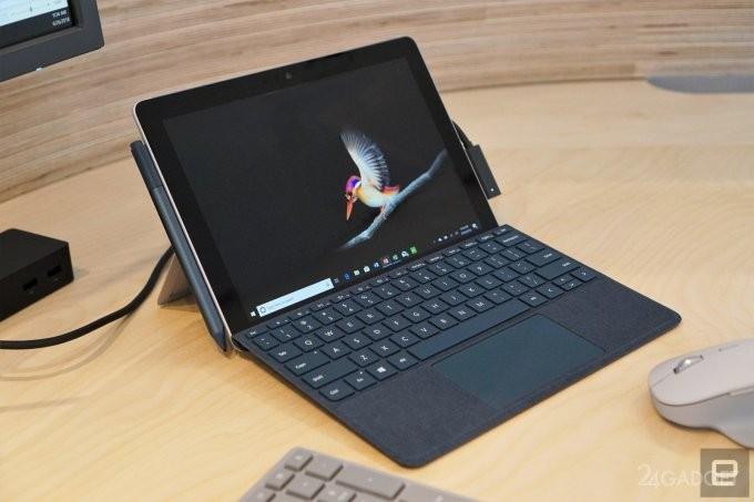 Microsoft представила планшет Surface Go за $399 (13 фото + видео)