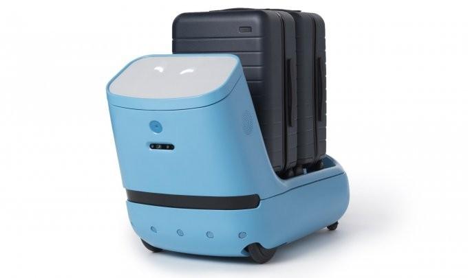 Робот Care-E сориентирует в любом аэропорту и довезёт багаж (6 фото + видео)
