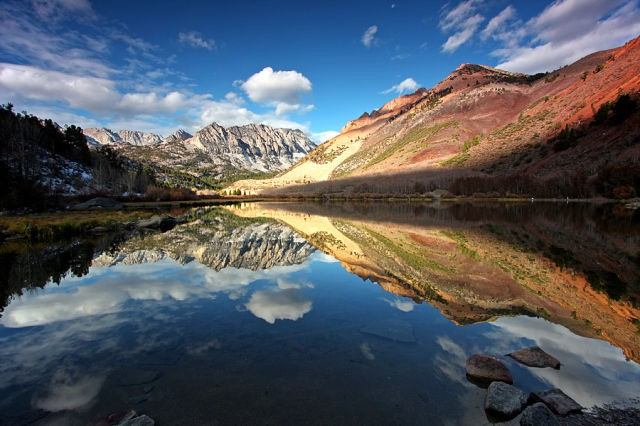 Зеркала в природе (18 фото)