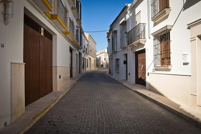 Прогулка по белому городку в Севилье (17 фото)