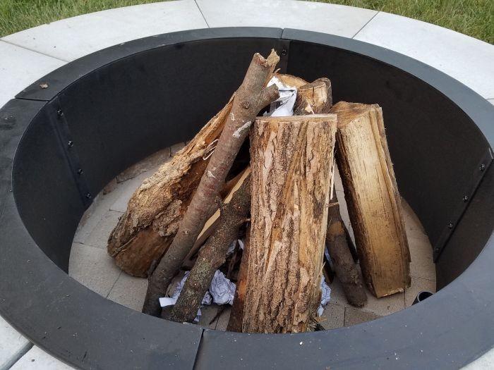Место для огня во дворе своими руками (31 фото)