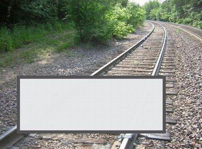 Как буксуют поезда (4 фото)