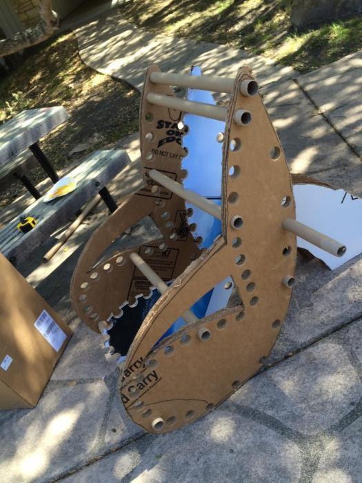 Кресло из картона своими руками (17 фото)