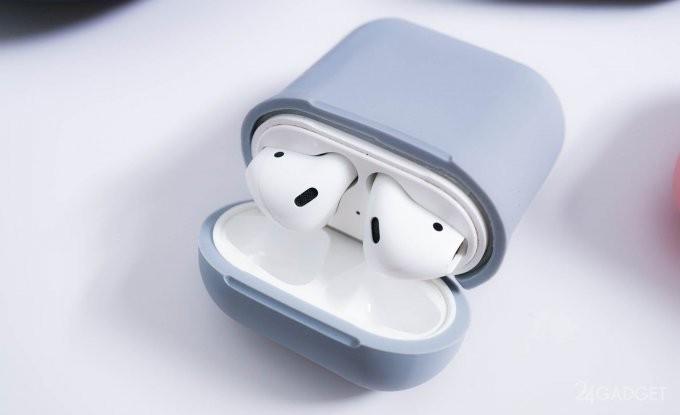 Ударопрочный кейс с беспроводной зарядкой для Apple AirPods (13 фото + видео)