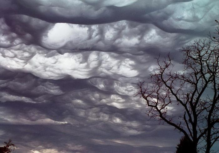 Самые страшные облака (20 фото)