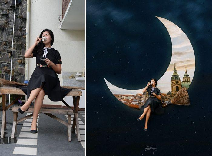 Обработка фотографий в сказочной тематике (20 фото)