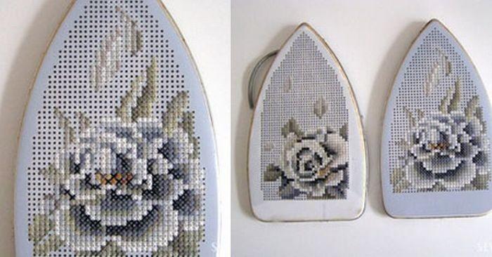 Вышивка крестиком (9 фото)