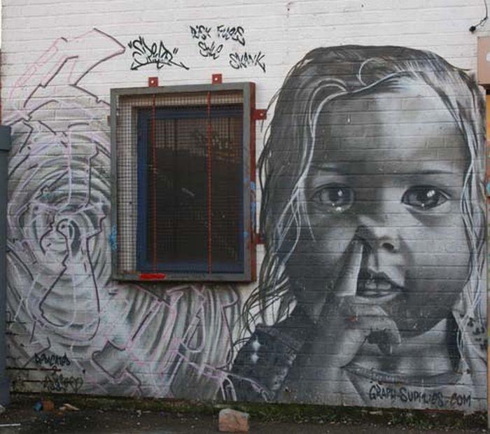 Современное граффити (17 фото)