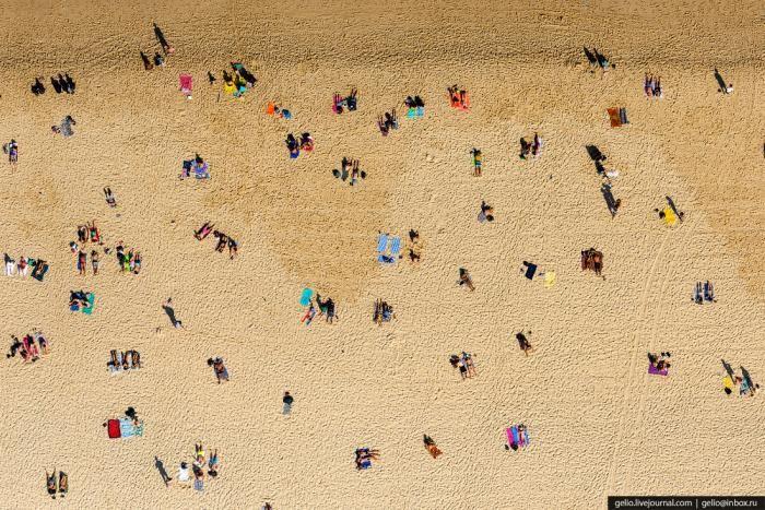 Сидней с высоты птичьего полета (55 фото)