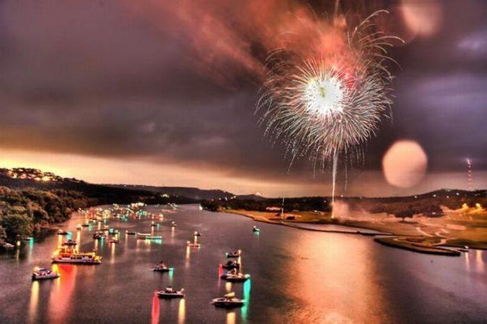 Фотографии невероятных фейерверков (35 фото)