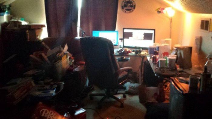 Жилище известного геймера-стримера World of Warcraft (9 фото)