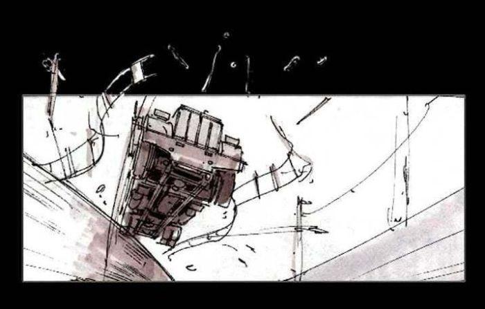 """Каким должен был стать """"Терминатор 2"""" по рисункам (32 фото)"""
