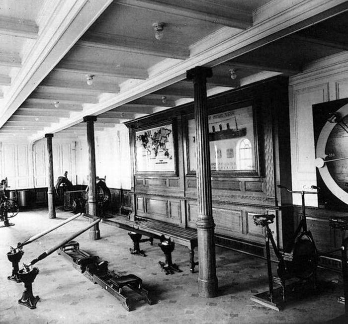 """Внутри легендарного """"Титаника"""" (25 фото)"""