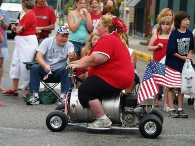 Фото, которые можно было сделать только в Америке (33 фото)