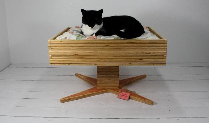 Винтажные домики для кошек (20 фото)