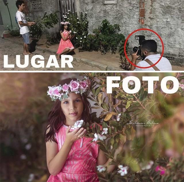 Оборотная сторона гламурных фотографий (18 фото)
