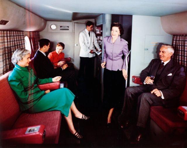 Архивные фотографии авиаперелётов 1950-х годов (13 фото)