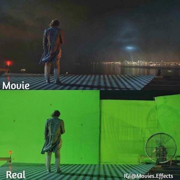 Современные кинофильмы до и после компьютерной графики (44 фото)