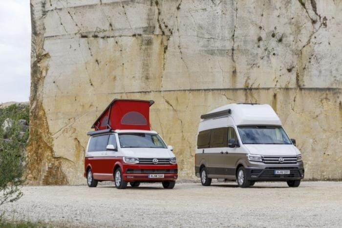 Grand California: двухэтажный дом на колесах от Volkswagen (11 фото)