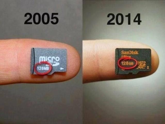 Как с годами изменились некоторые современные технологии (11 фото)