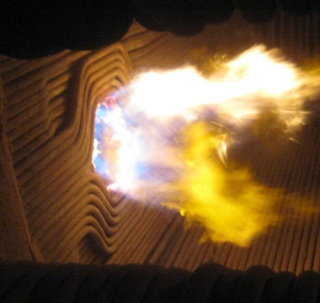 Котел ТЭЦ изнутри (6 фото)