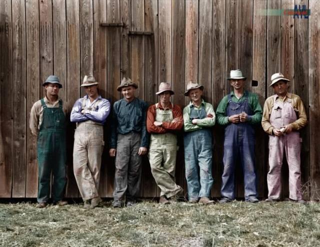 Америка на старых фотографиях после колонизации (37 фото)