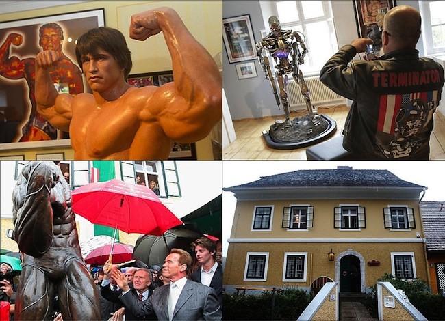 Шварценеггер открыл музей в честь себя (12 фото)
