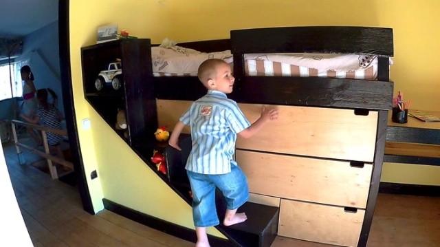 Кровать для сына своими руками (16 фото)