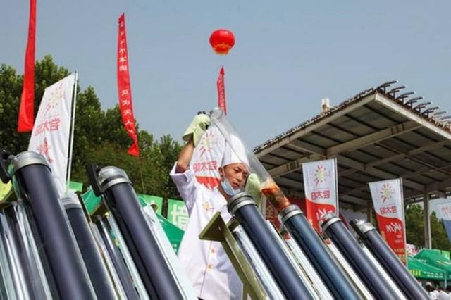 """Китайский фестиваль """"солнечной еды"""" (12 фото)"""