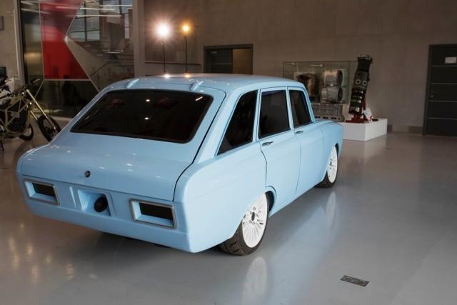 """Концерн """"Калашников"""" представил концепт электромобиля (9 фото)"""