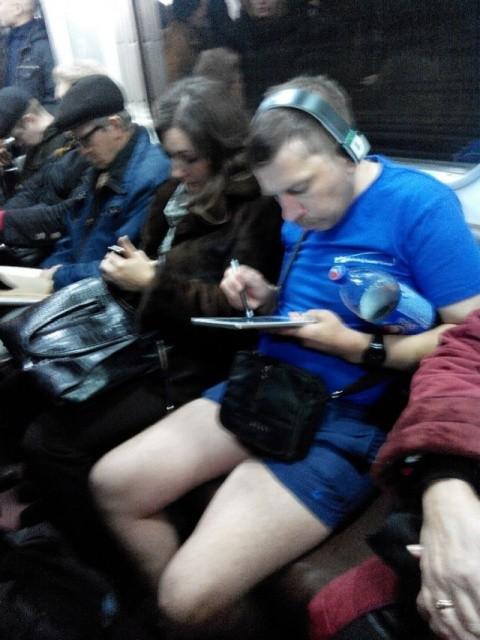 Модницы и модники из метрополитена (31 фото)