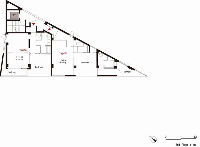 Остроугольный дом (14 фото)