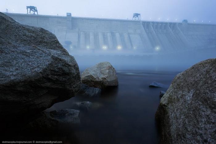 Прогулка по Бурейской ГЭС (26 фото)