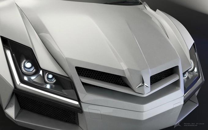 Концепт Mercedes SF1 (23 фото)