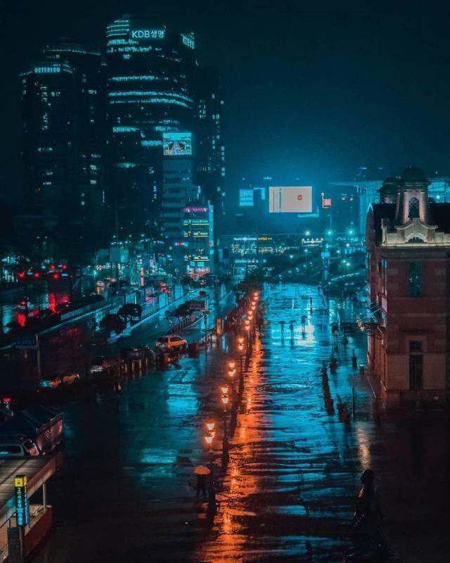 """Снимки из Азии в стиле """"киберпанк"""" (26 фото)"""