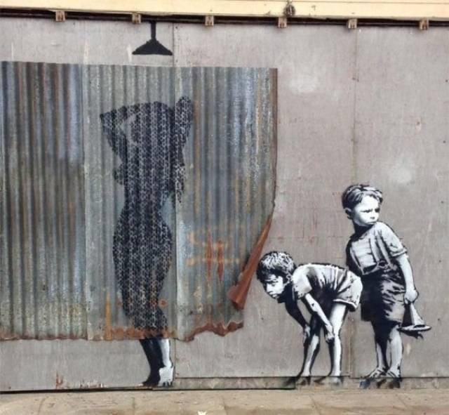 Необычный и креативный стрит-арт (38 фото)