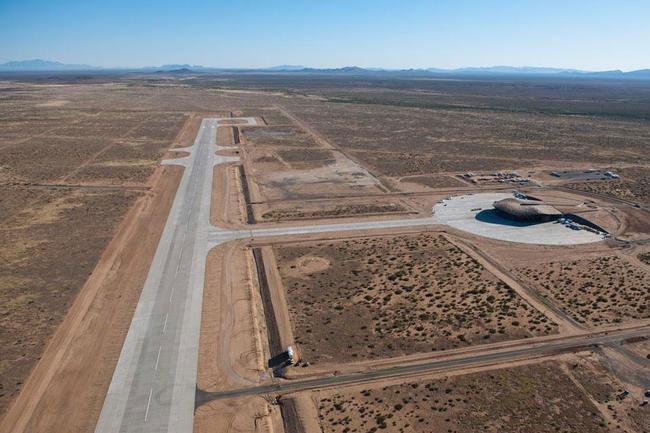 Открылся первый космопорт в мире (11 фото)