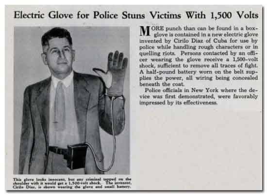 Гаджеты для полицейских, которые так и не прижились
