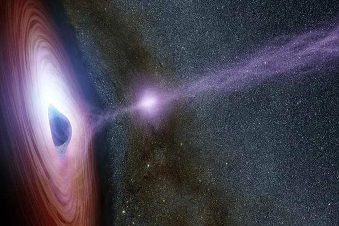 Центр нашей галактики на визуализации НАСА
