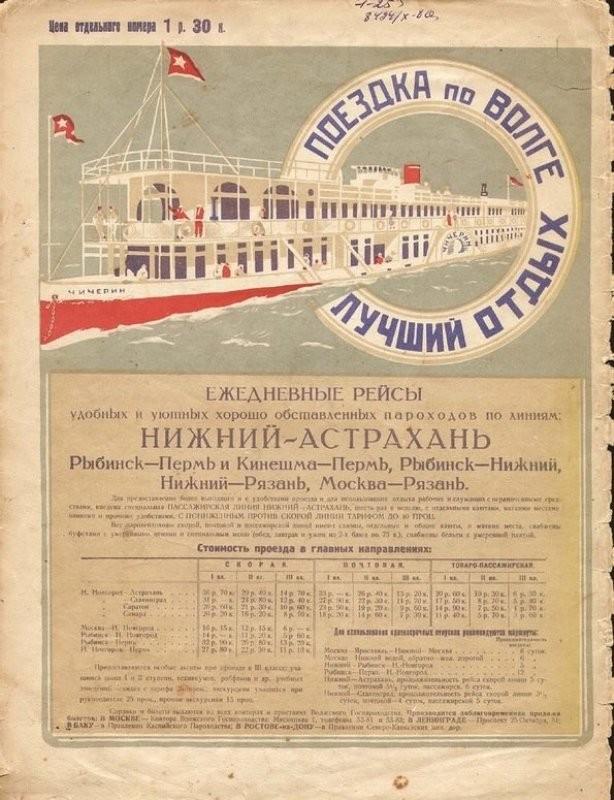 Туристическая реклама в СССР