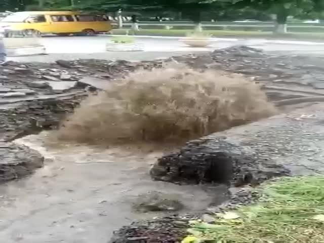 Суровые будни водопроводчиков во Владикавказе