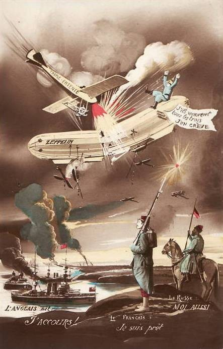 История Цеппелина