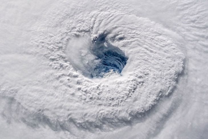 Ураган «Флоренс»: вид из космоса