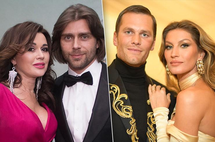 Женатые пары знаменитостей, похожие друг на друга